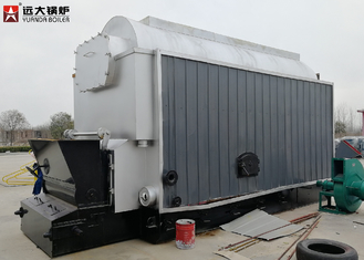 6 Ton / 8 Ton Industrial Steam Boiler / Wood Coal Fuel Fired Boiler