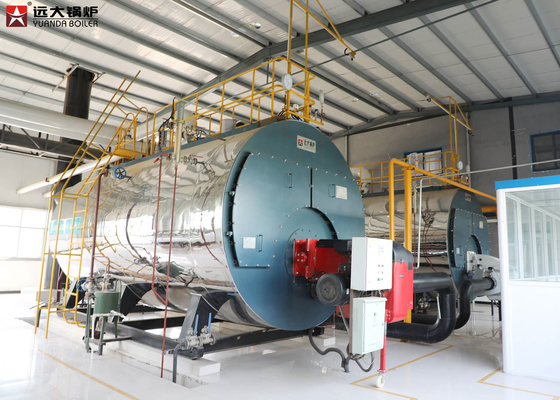 ISO9001 Industrial Steam Boiler 1Ton To 20 Ton For Food Factory