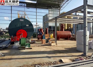 Automatic Industrial Steam Boiler For Brewery Factory , Oil Fired Steam Boiler