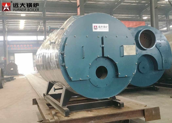 Beverage Factory Gas Fired Boiler / Natural Gas Boiler 0.5 Ton - 30 Ton Steam Output