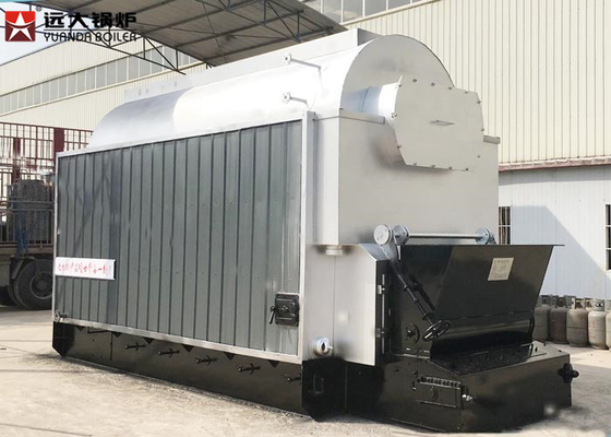 7 Bar Fire Tube And Water Tube Biomass Steam Boiler 3 Ton For Rice Mill