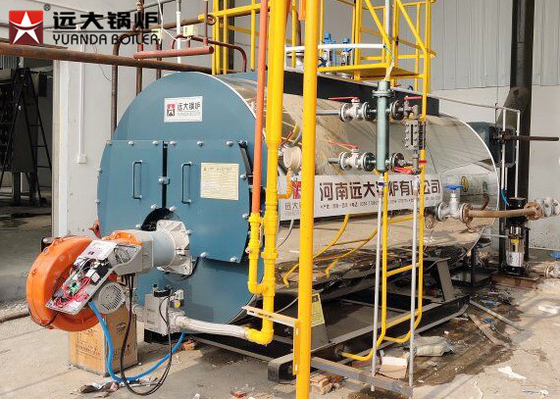 Easy Operation 6T Gas Oil Steam Boiler Automatic Running For Fruits Dehydration Line